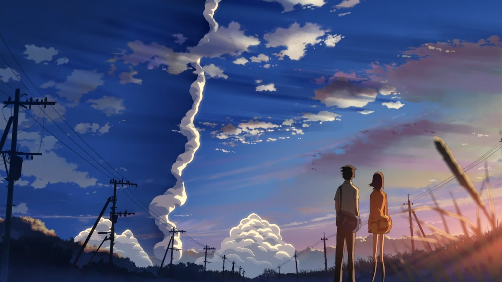 The Girl Who Leapt Through Time Wallpaper 1920x1080 Everything Reviewed Anime Review 5 Cm Per Second Movie